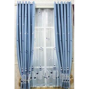 Современные вышитые шторы