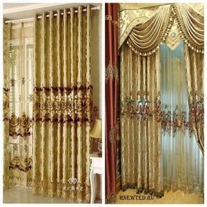 Красивые шторы с ламбрекеном купить