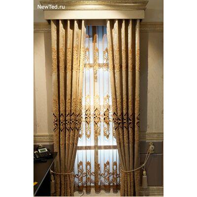 Штор для гостиной новый дизайн  фото