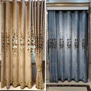 Комплект шторы и тюль № 299