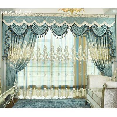 Купить комплект штор  «Синий ветер»