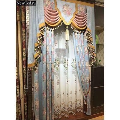 Шикарные жаккардовые шторы для вашего уюта