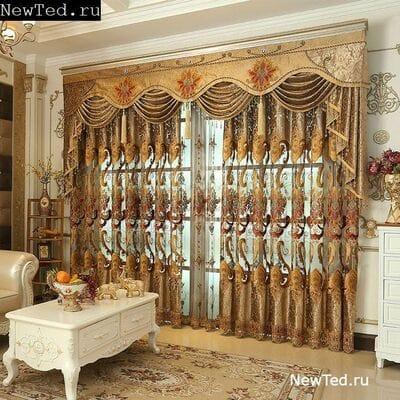 Потрясающие шторы - роскошное украшение для вас