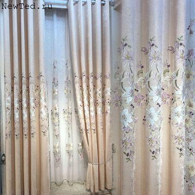 Шикарные шторы Леруа