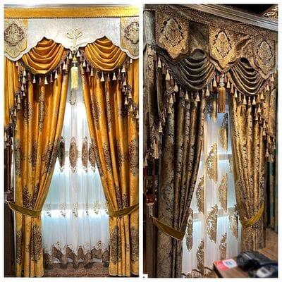 Сказочные шторы с тюлью