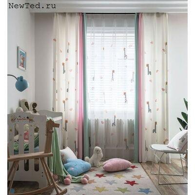 Сказочные шторы для девочек