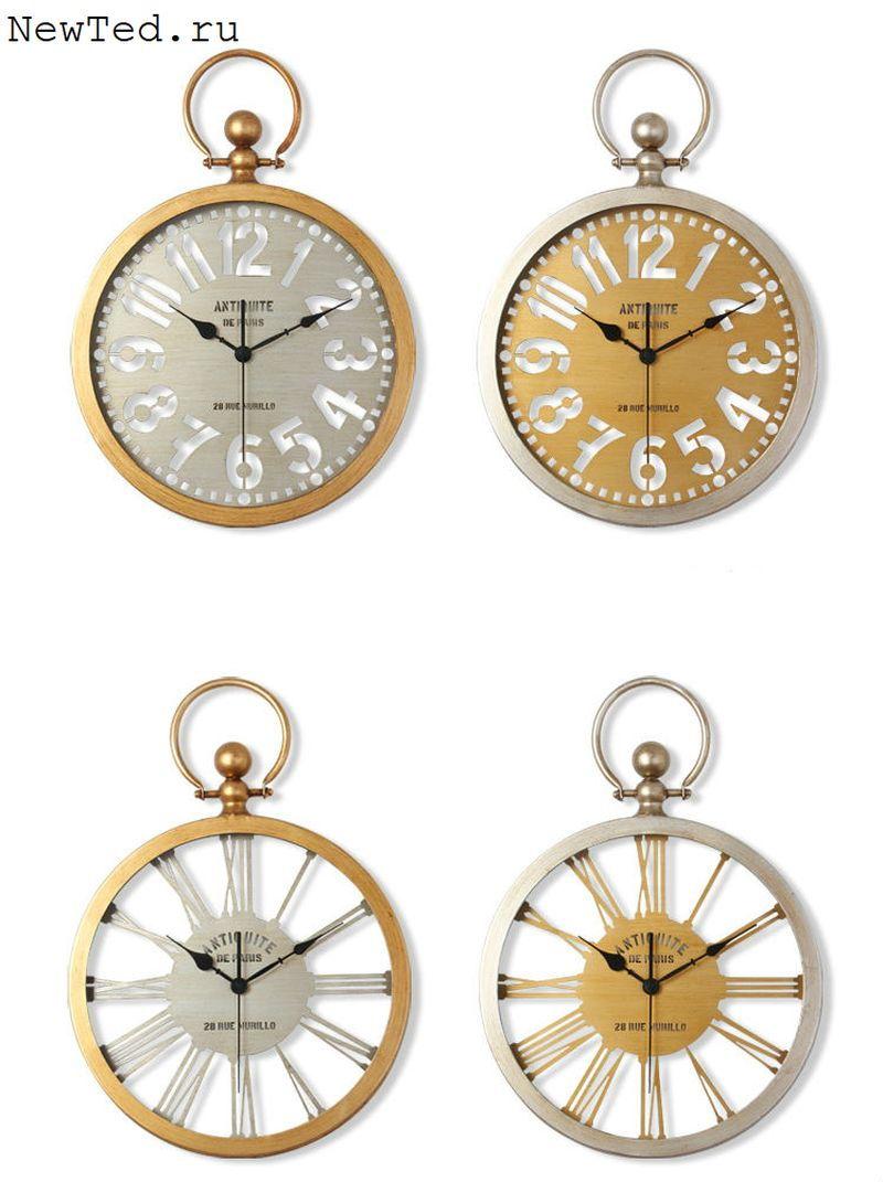 Купить настенные часы декоративные