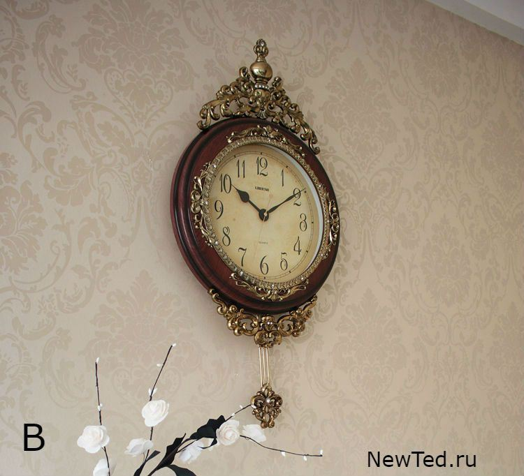 Купить настенные часы с маятником