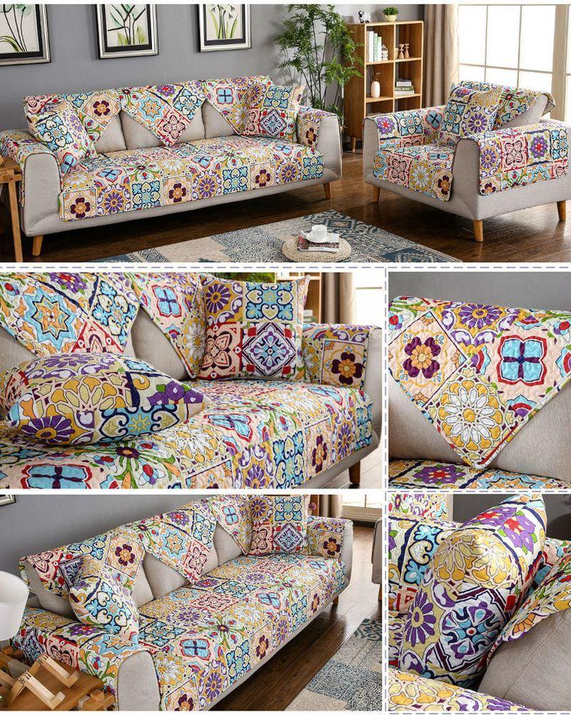 Накидка на диван стиль  кисть