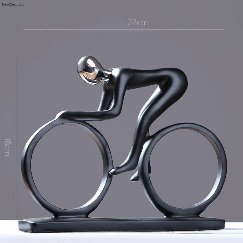 статуэтка велосипедиста
