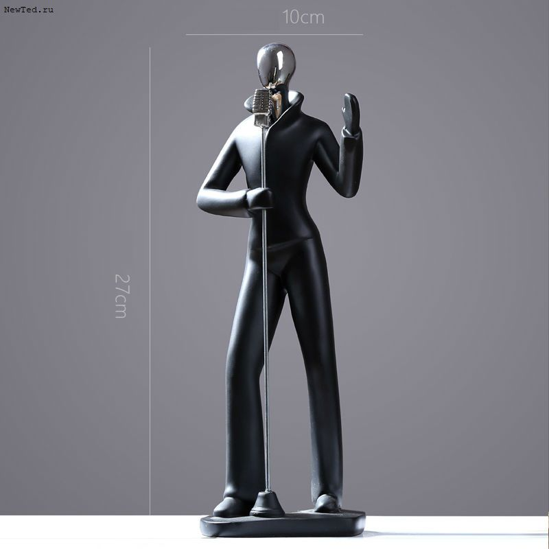 статуэтки Певец