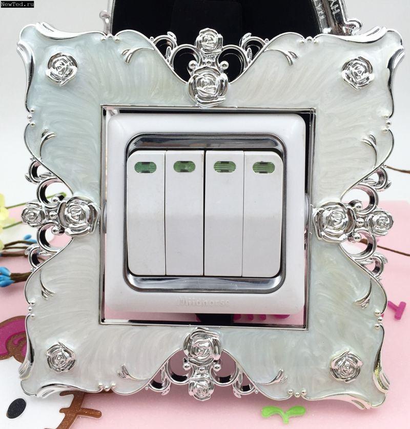Купить декоративную рамку для выключателя