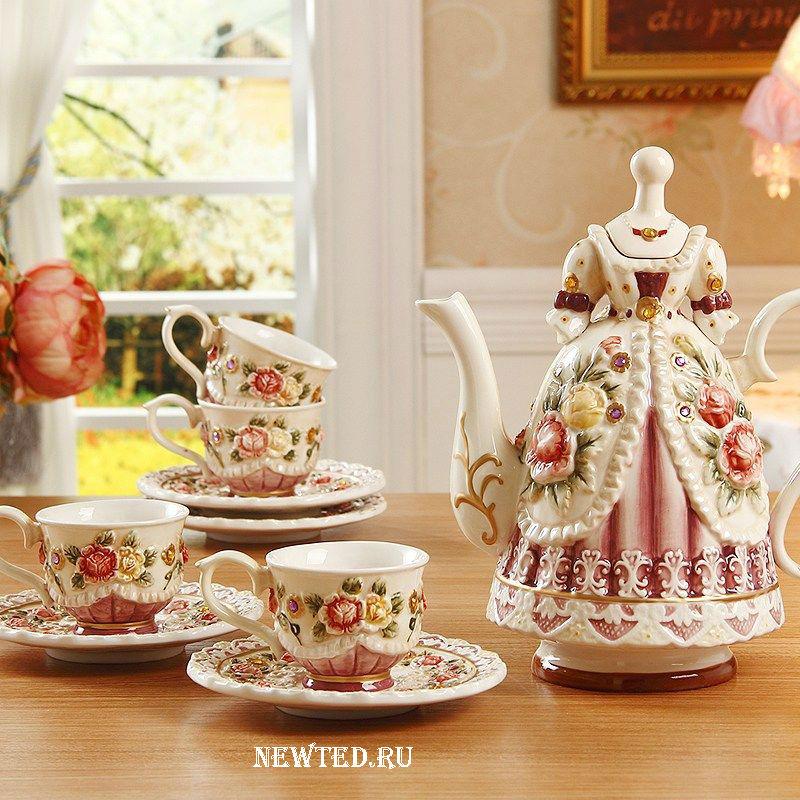 Чайный набор покупают