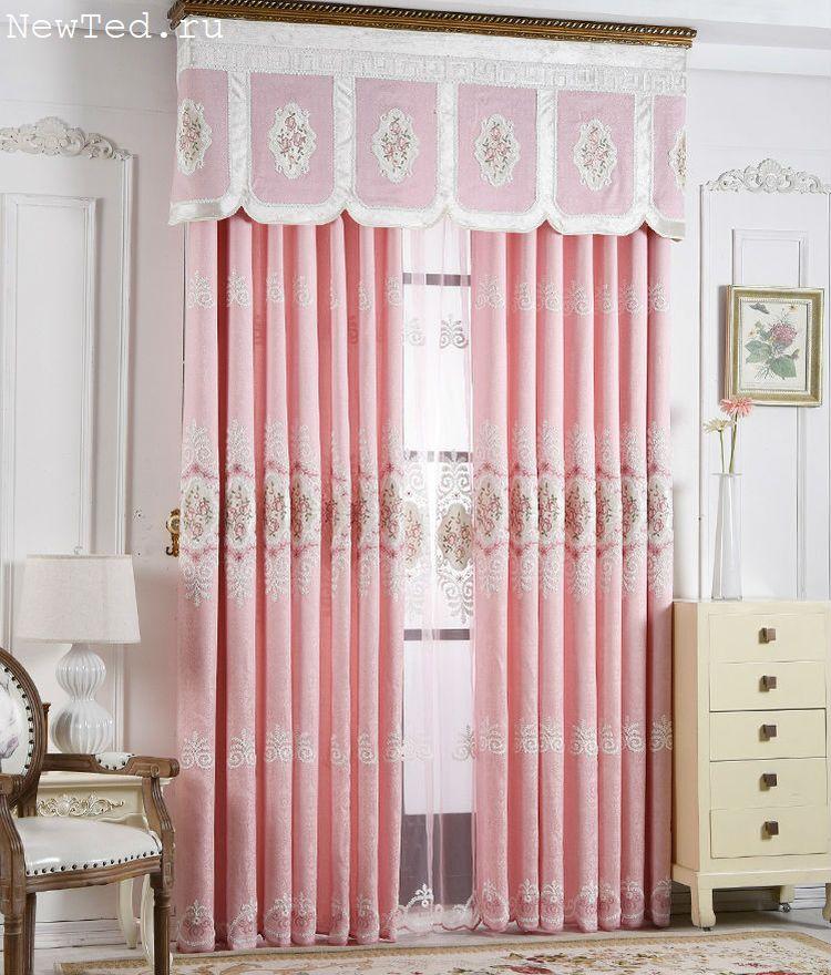 готовые дизайнерские шторы