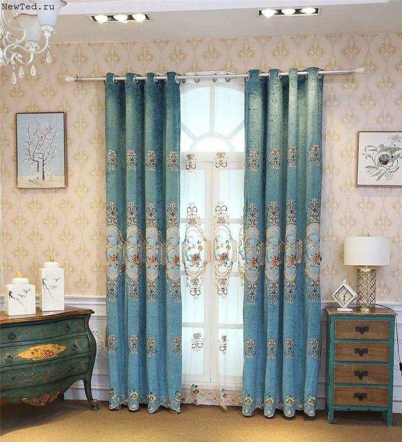 готовые шторы красивые