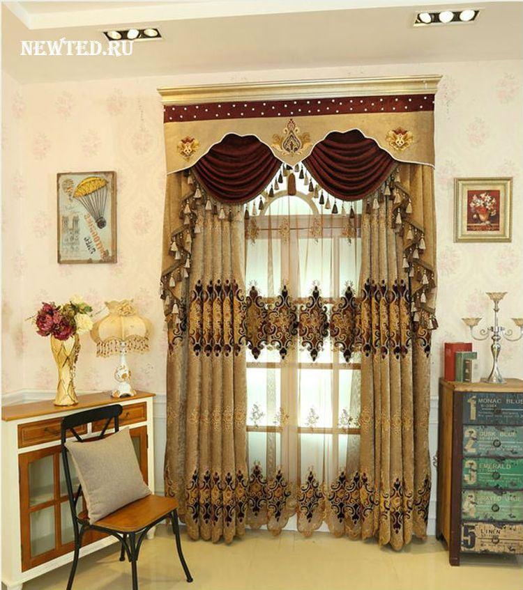 Готовые шторы на люверсах купить в интернет магазин