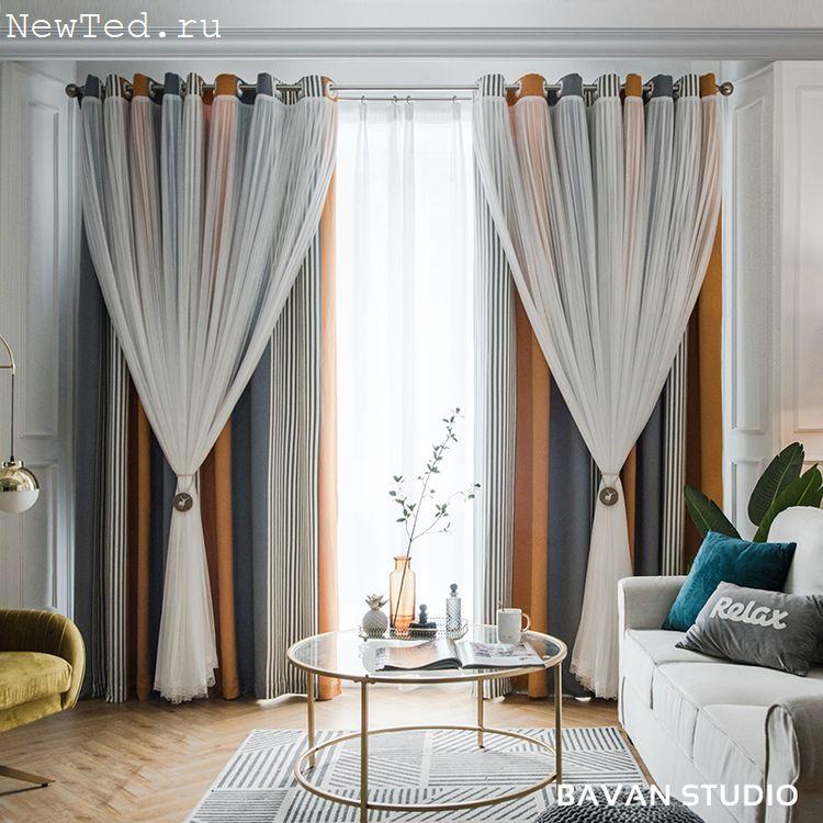 Вышитые шторы купи в интернет магазине