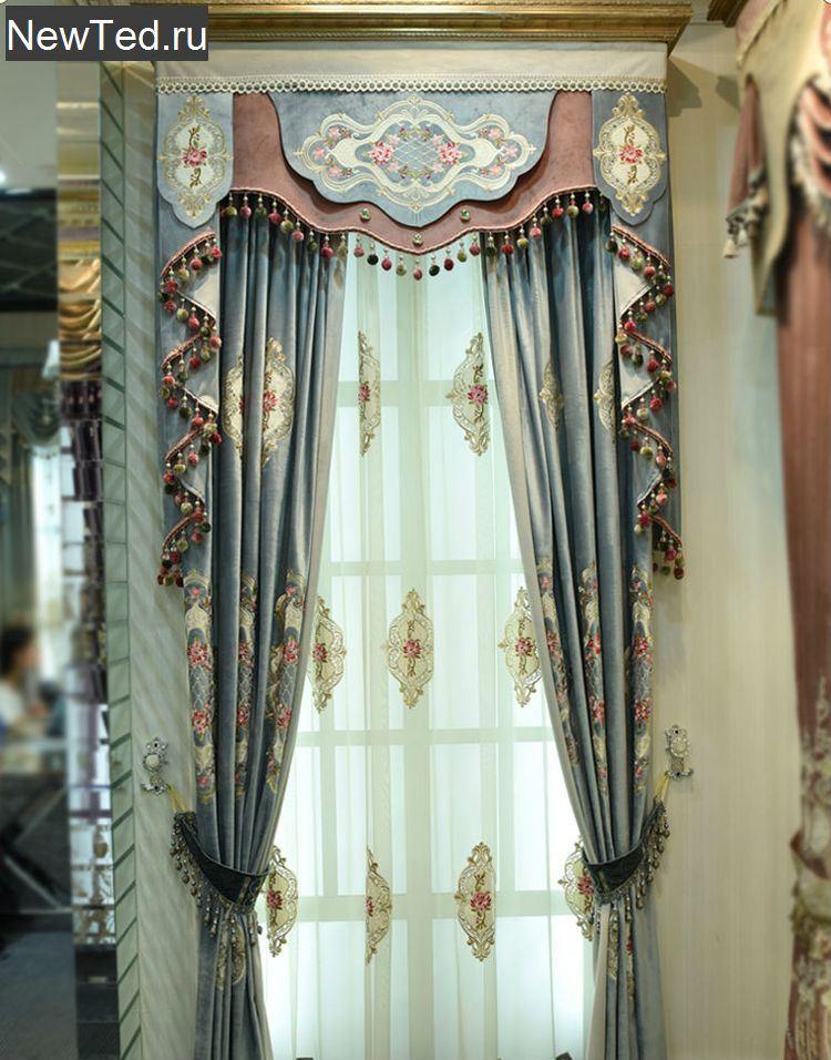 Заказать ночные шторы для зала